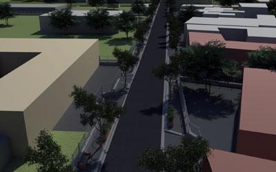 Riqualificazione strada urbana
