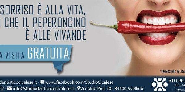 Flyer Promozionale Studio Dentistico Cicalese