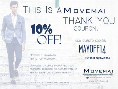 Coupon di Sconto Movemai