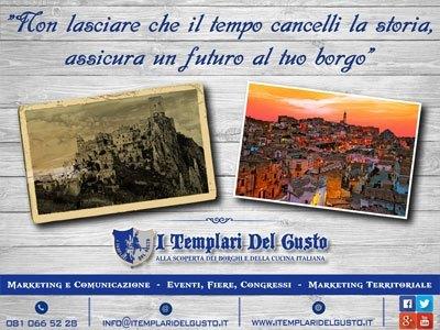 """Flyer Promozionale """"I Templari del Gusto"""""""