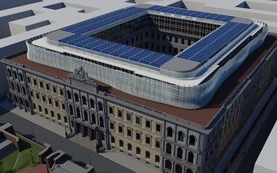 Riqualificazione ex Edificio Poste Italiane di Roma