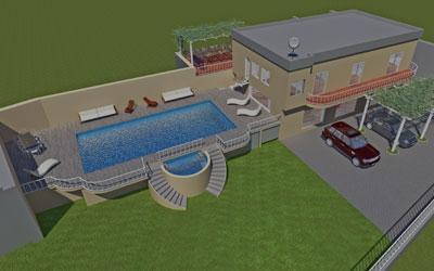 Progettazione Villa in campagna