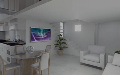Appartamento con Terrazzo e Zona Studio
